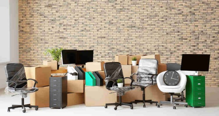 Image of office move