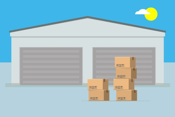 Illustration of storage solutions in Leeds
